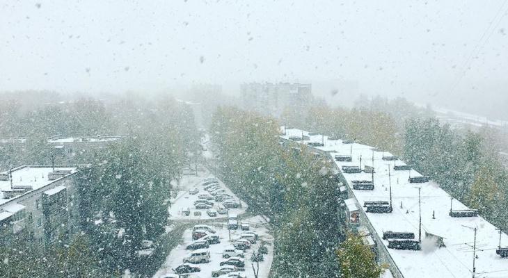 В Кирове ожидается выпадение первого снега