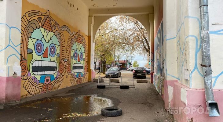 В ГИБДД запретили проезд через арку на Октябрьском проспекте