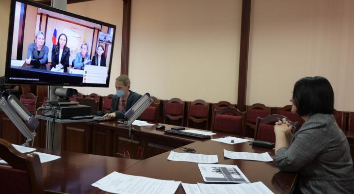 Вице-спикер ОЗС провела дискуссию женщин-депутатов ПФО