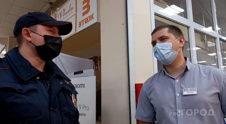 В Кирове возобновили проверки соблюдения масочного режима